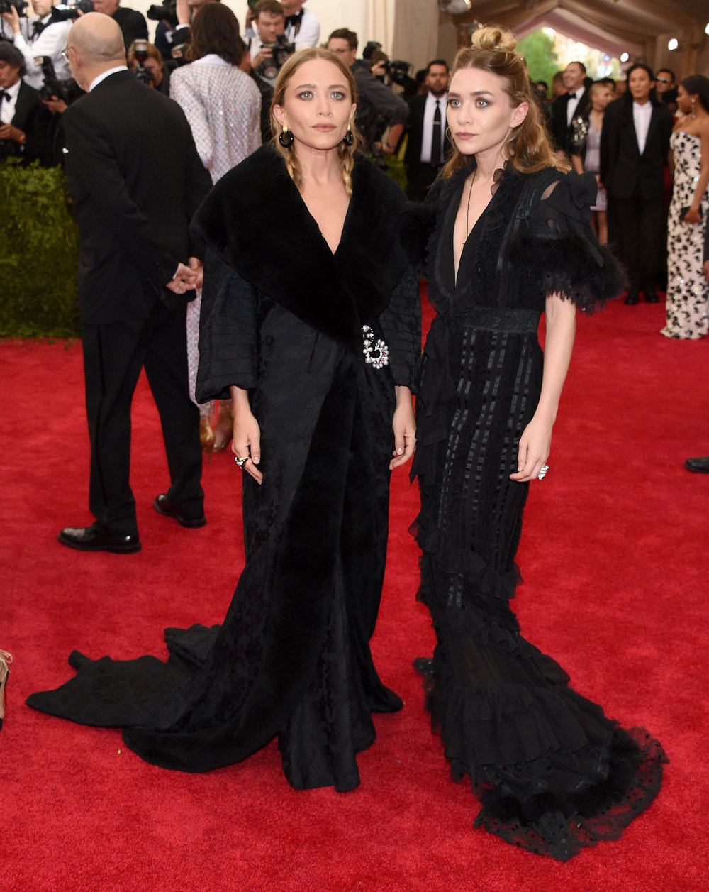 2015- Both wearing vintage John Galliano for Dior
