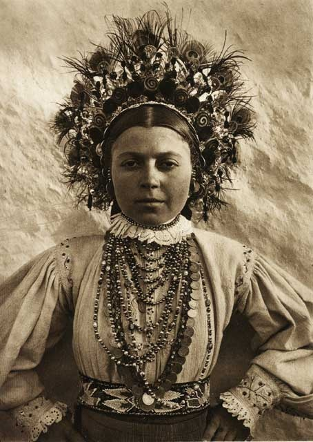 Young woman by Kurt Hielscher in Old Romania, ca. 1930