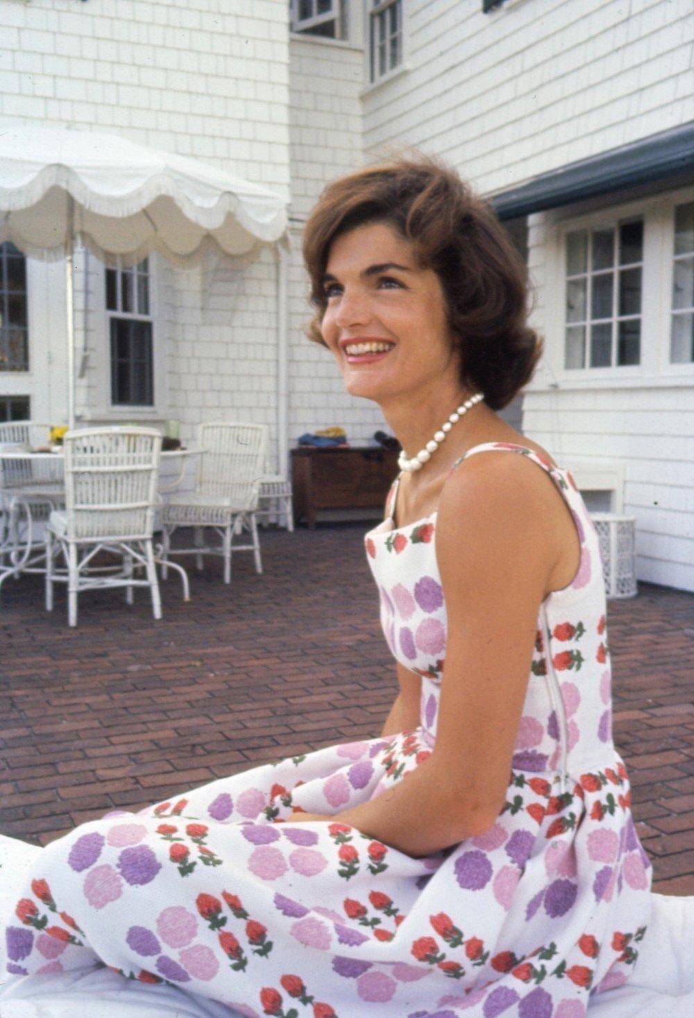 Jacqueline Kennedy by Phillip Harrington, 1959 via The Harrington Collection/Alamy