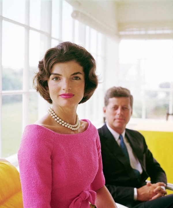 Jacqueline Kennedy with John F. Kennedy by Mark Shaw, 1959