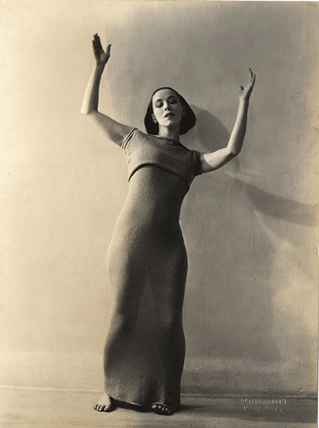 Martha Graham by Soichi Sunami, 1928