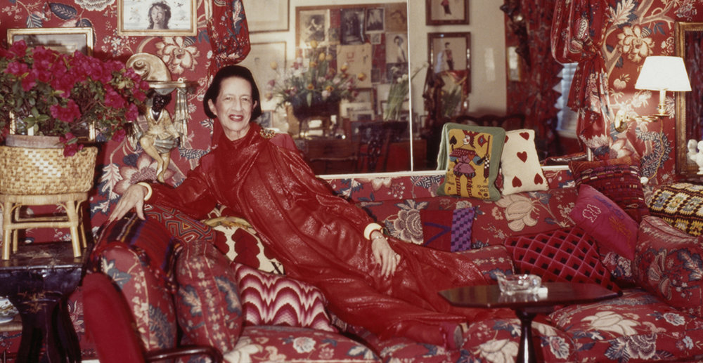 Diana Vreeland by Horst P. Horst, 1979 courtesy of the Estate of Horst P. Horst/Art + Commerce