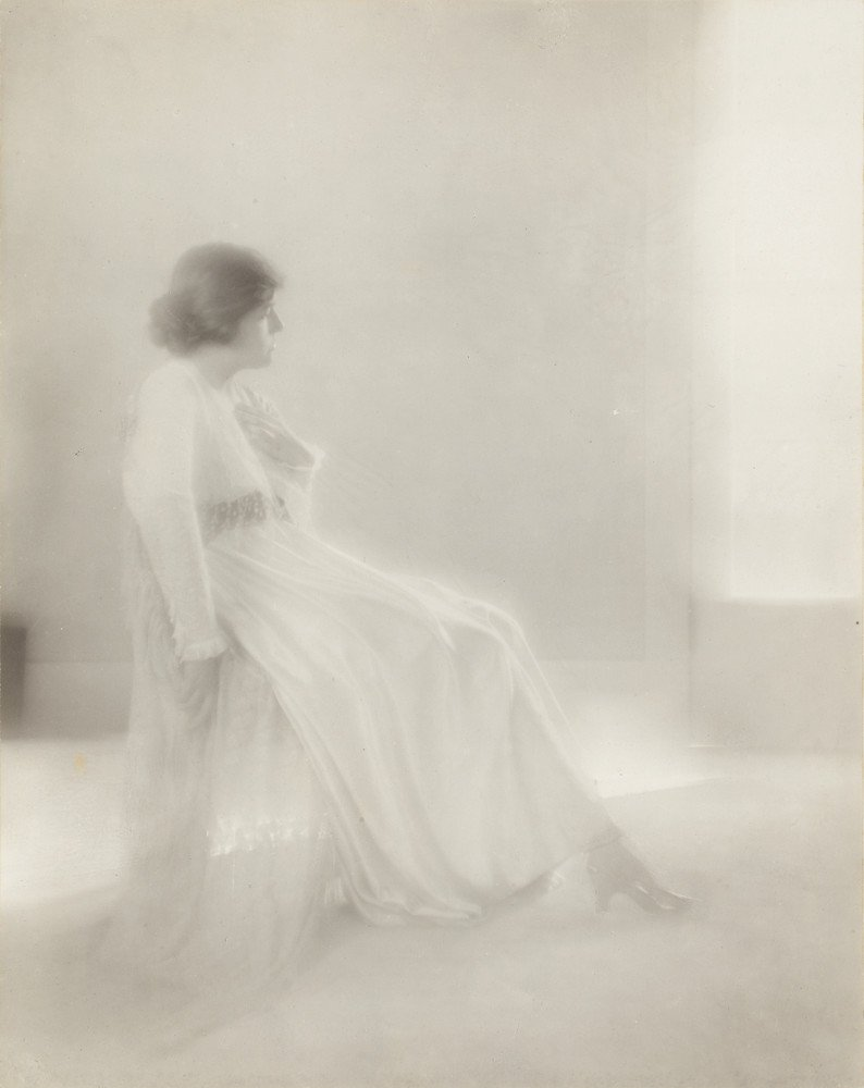 Lady in White, circa 1917
