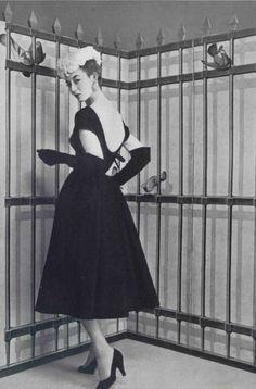 A 1950s Jacques Fath dress