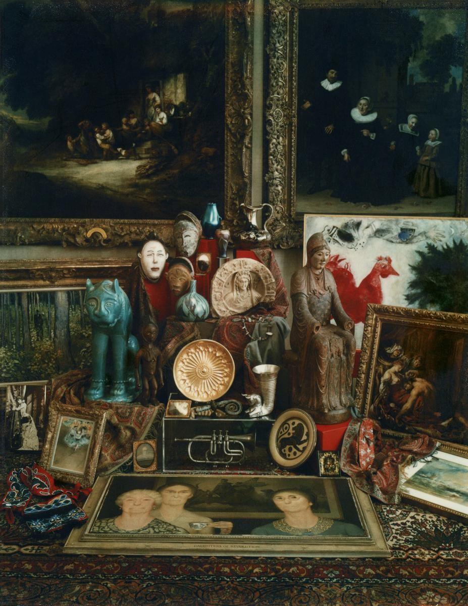 The Cincinnati Art Museum Centennial Still Life  |1980 © Estate of Marie Cosindas, courtesy of Bruce Silverstein Gallery, NY