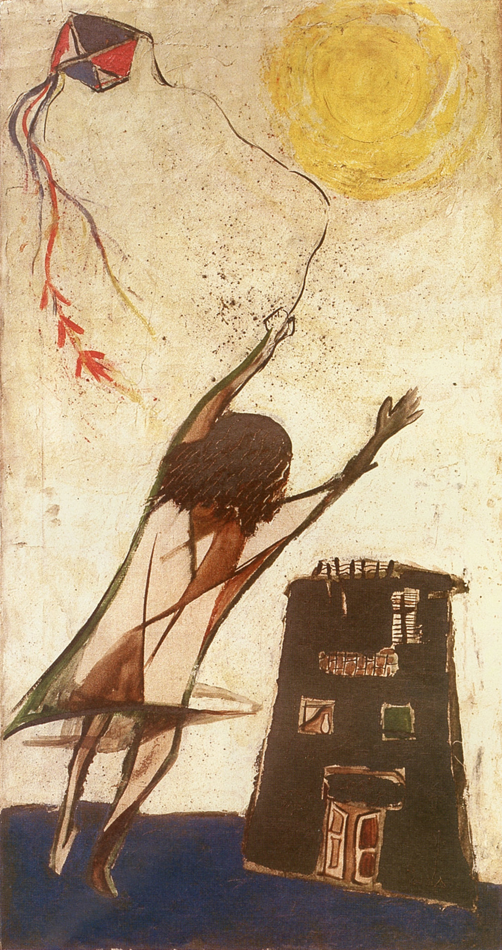 The Kite by Gazbia Sirry (Egyptian b. 1925)via The Met