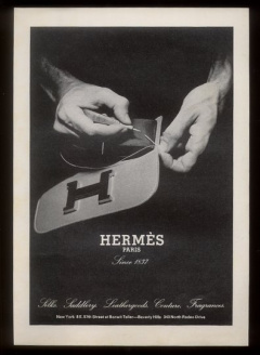 An Hermès ad from 1974