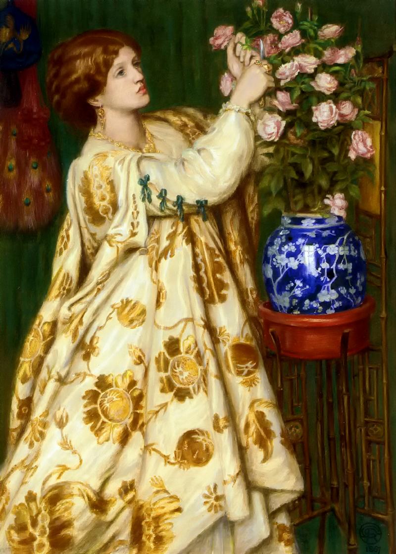 Dante Gabriel Rossetti, Monna Rosa, 1867