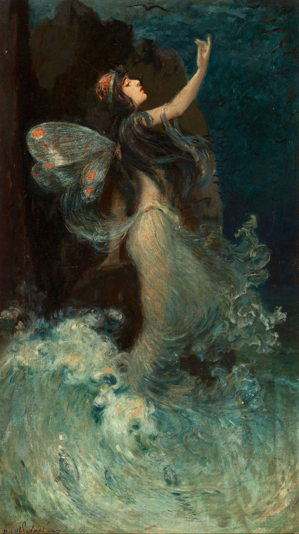 Paul Swan, Water Nymph, 1907