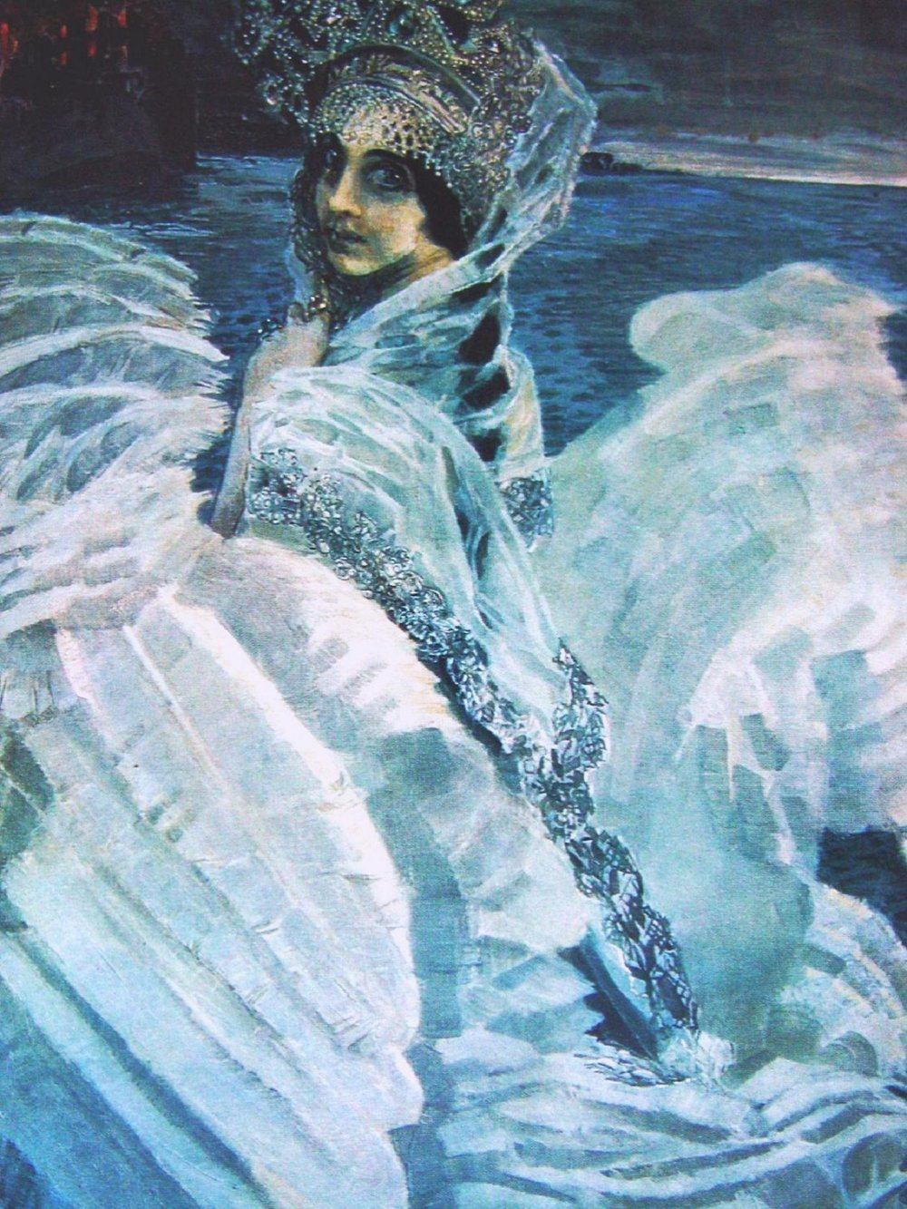 Mikhail Vrubel, The Swan Princess, 1900