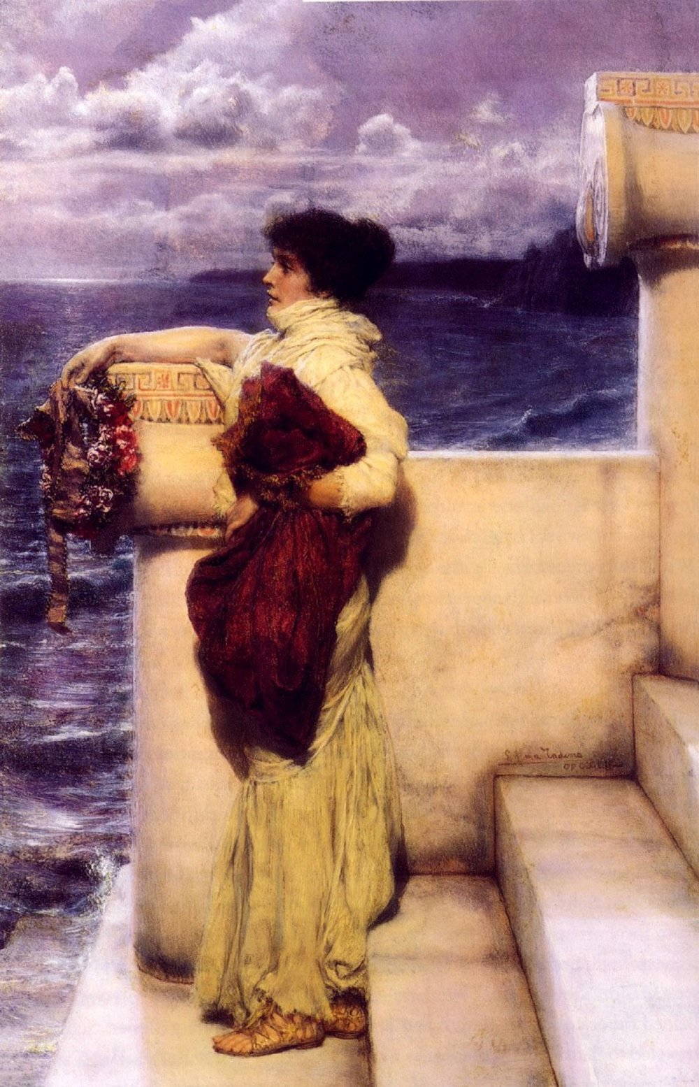 Lawrence Alma-Tadema, Hero, 1898