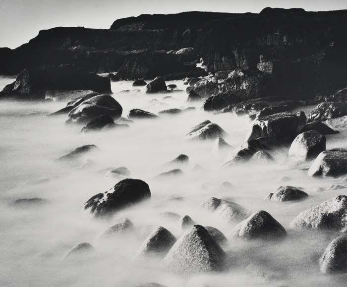 Wynn Bullock, Sea and Rocks, 1966