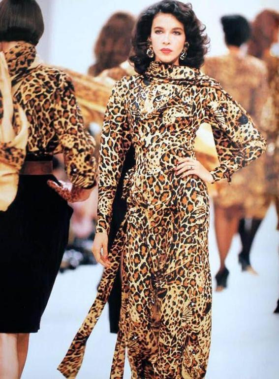 Yves Saint Laurent AW 1982