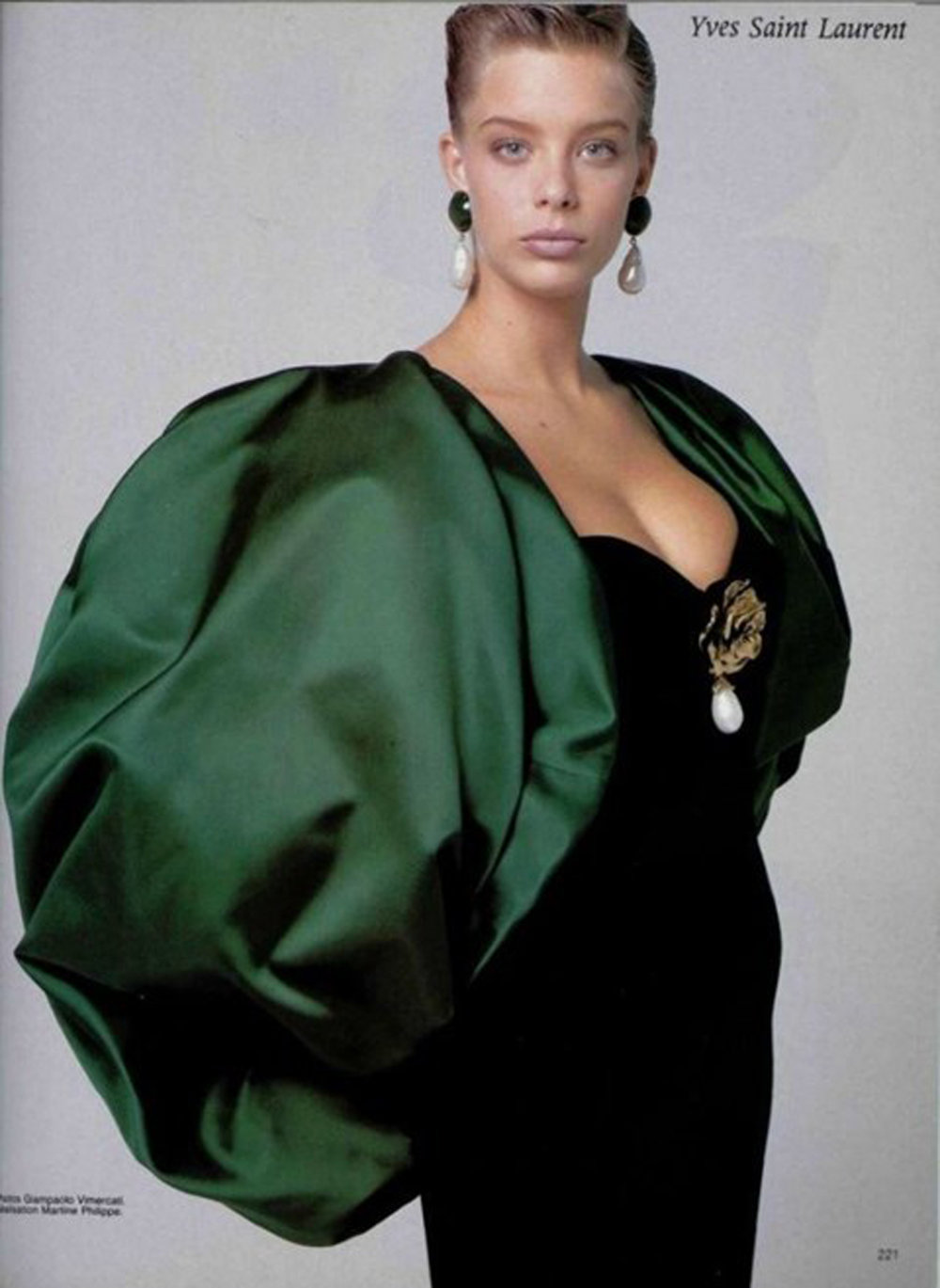 Yves Saint Laurent Couture 1988