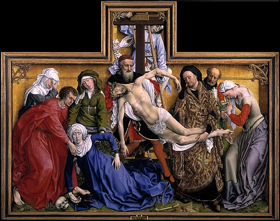 The Descent From The Cross by Rogier van der Weyden, 1438