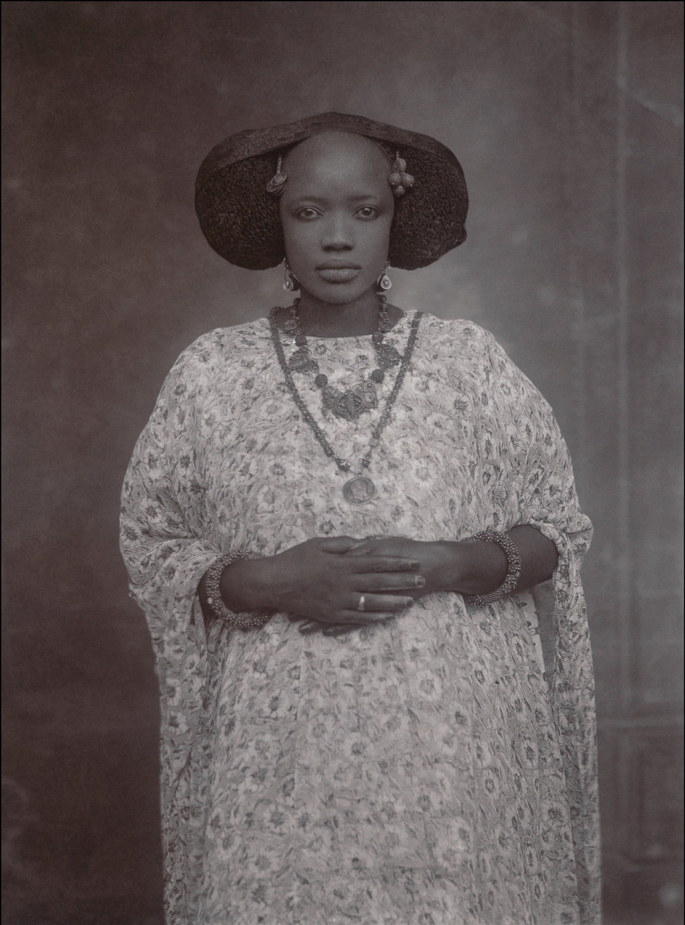 Portrait of a Woman, Senegal circa 1910 via The Met