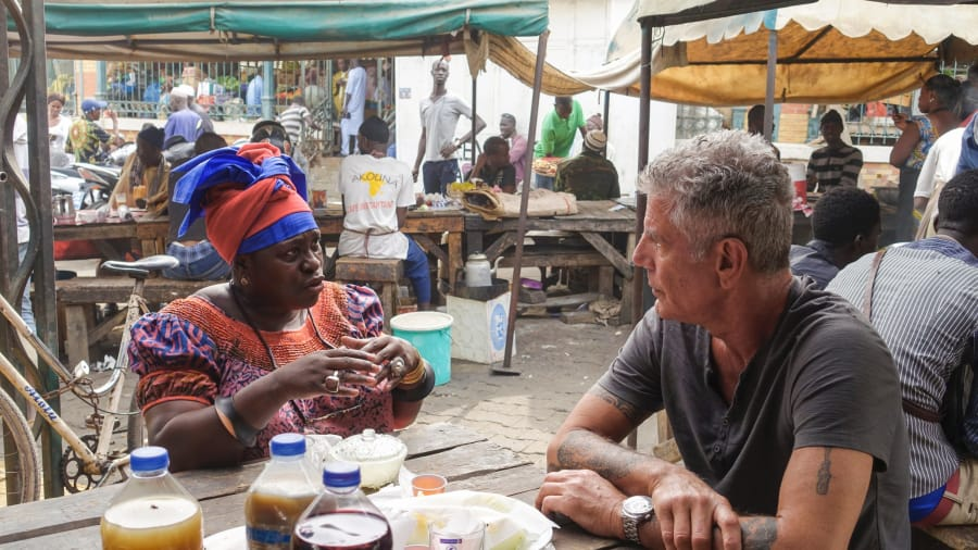 In Senegal; Image: CNN