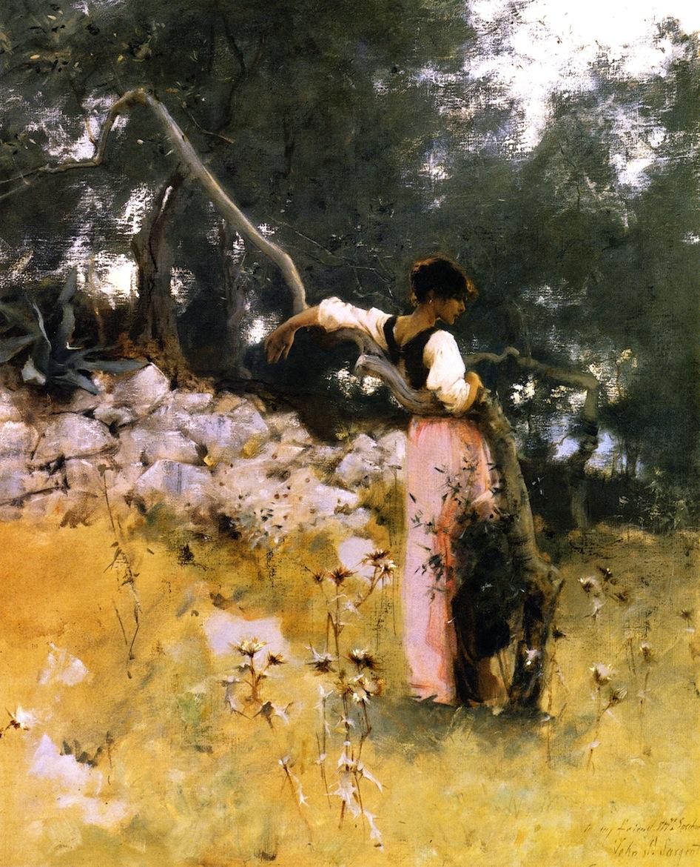 Capri Girl | John Singer Sargent, 1878