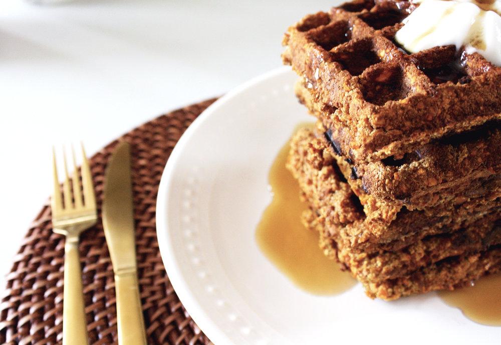 15-minute-paleo-maple-sweet-potato-waffles
