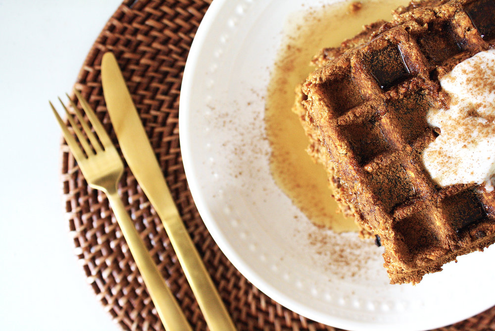 15-minute-paleo-maple-sweet-potato-waffles