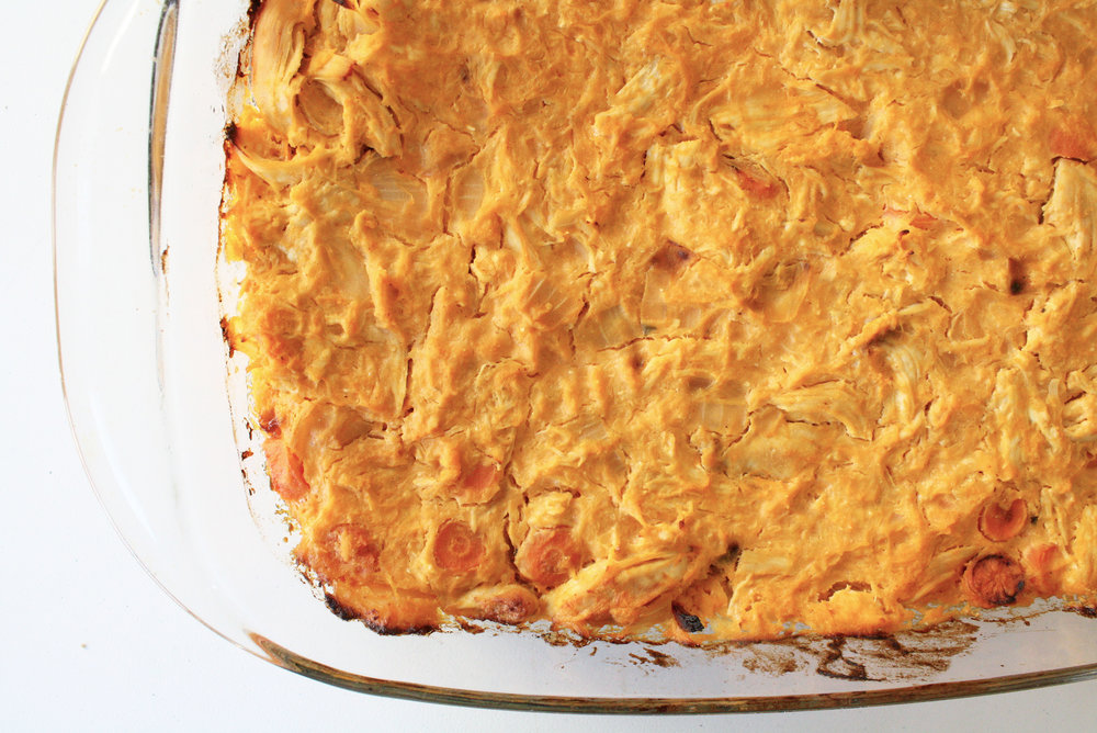 buffalo-chicken-casserole