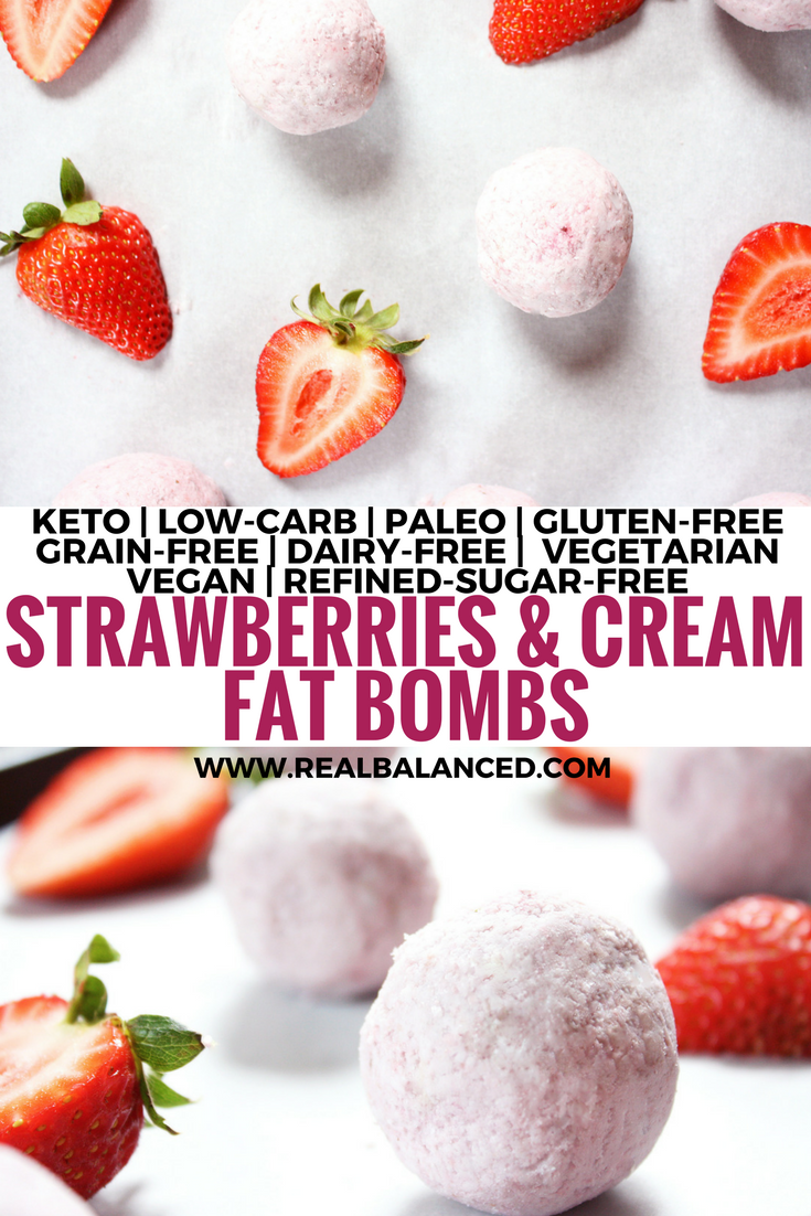 strawberries-and-cream-fat-bombs