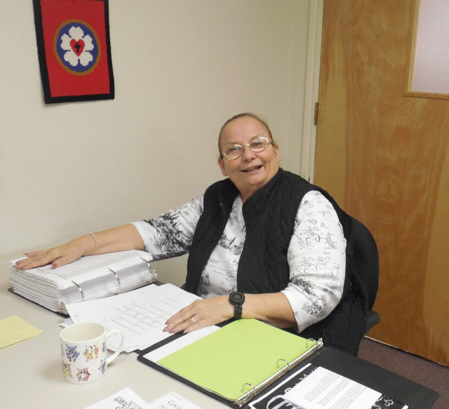 Debra Butts, Church Office Volunteer