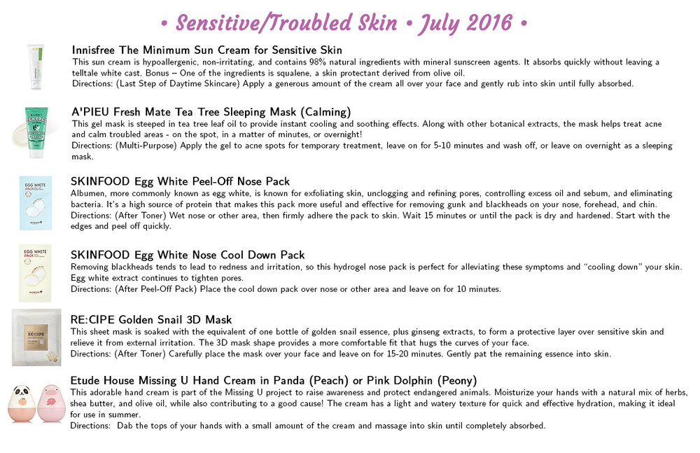 Jini Beauty - Sensitive/Troubled Skin Products (July 2016)