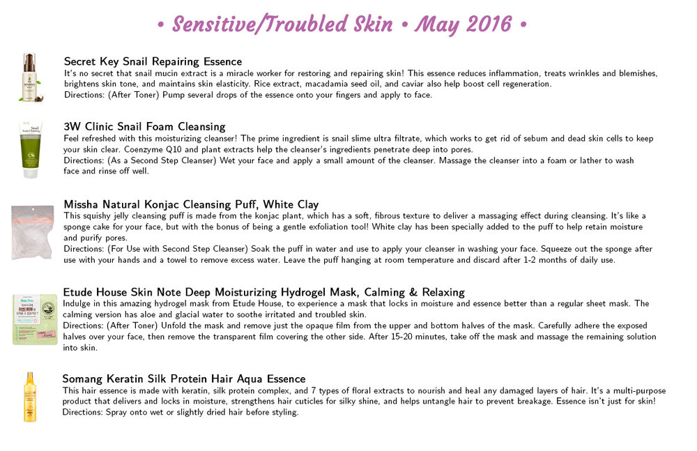 Jini Beauty - Sensitive/Troubled Skin Products (May 2016)