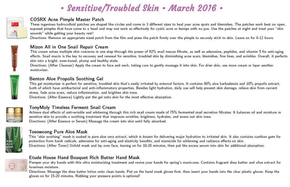 Jini Beauty - Sensitive/Troubled Skin Products (March 2016)