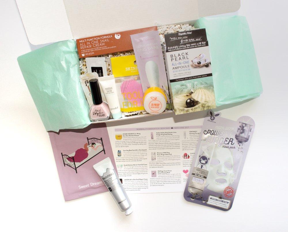Jini Beauty Box - May/June 2017 - Normal/Combination Skin