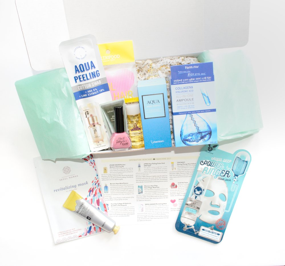 Jini Beauty Box - May/June 2017 - Dry/Mature Skin