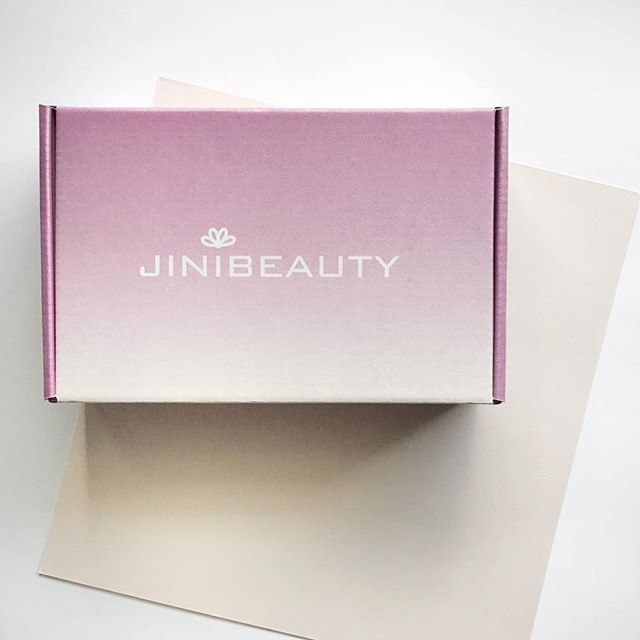 Say hello to our new box! We hope you 💜it as much as we do. #jinibeautybox #kbeauty