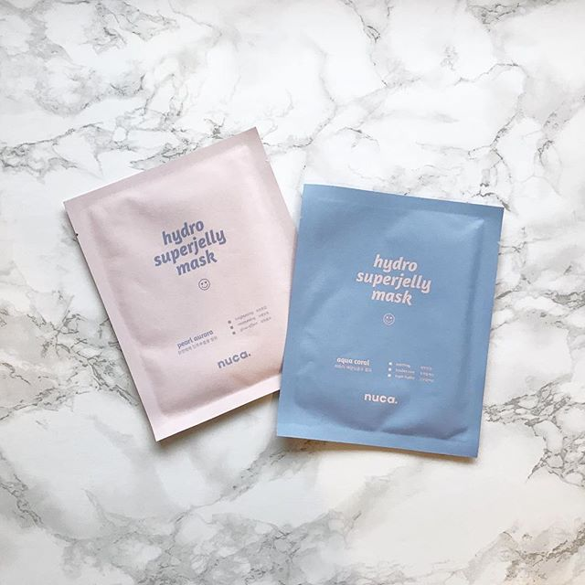 Get jelly-licious with these Hydro Superjelly #sheetmasks from Nuca! This post is a bit late since we tried the masks last year, but we recommend Pearl Aurora for normal/combination skin and Aqua Coral for sensitive/troubled skin. The resulting glow is fabulous! 😍@nucausa #tgif #longweekend . . . #koreanbeauty #koreanskincare #koreancosmetics #beautyaddict #jinibeauty #beautybox #loveyourskin #rasianbeauty