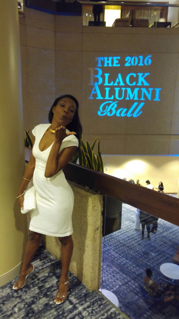Michelle Sasha at The 2016 Black Alumni Ball, Hyatt Regency Hotel, Arlington, VA