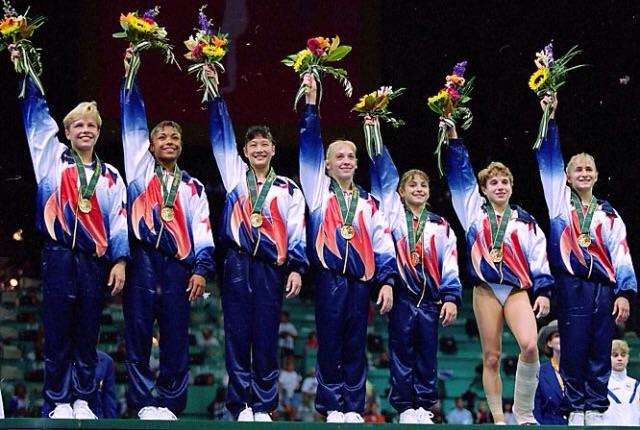 The Magnificent 7 , Atlanta 1996 Olympic Gold Medalists