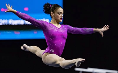 Laurie Hernandez, Rio 2016 Olympics Via  USA Gym