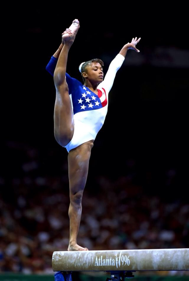 Dominique Dawes Alanta 1996 Olympic Games  Via