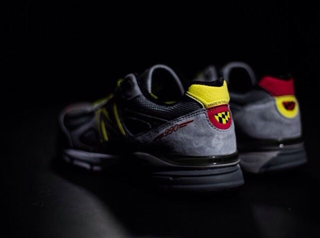 The DMV 990 pays homage to June Sanders' DMV roots. The colors and details of the Maryland state flag are prominent yet subtle enough to please any sneaker head. Image  via Instagram