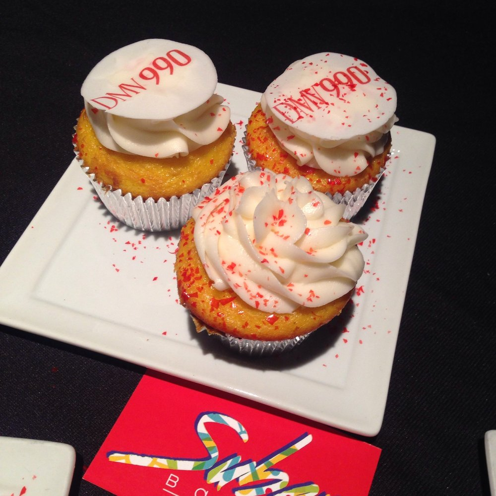 Custom cupcakes by Suber Bakes.