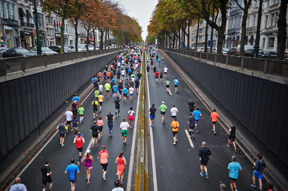 Runners via  Unsplash