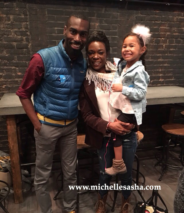 Deray McKesson, Michelle Sasha and Maggie at the #WeVote Panel Discussion, October 6, 2016, Washington, DC