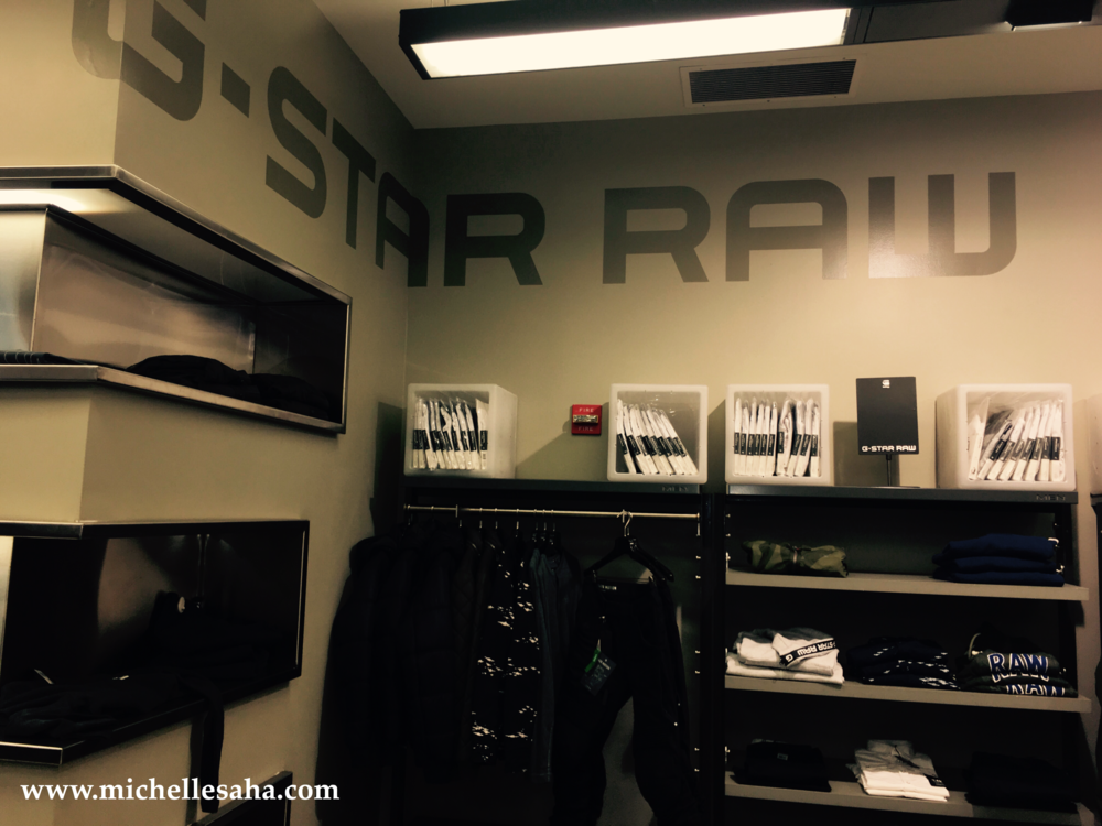 G-Star RAW, DC