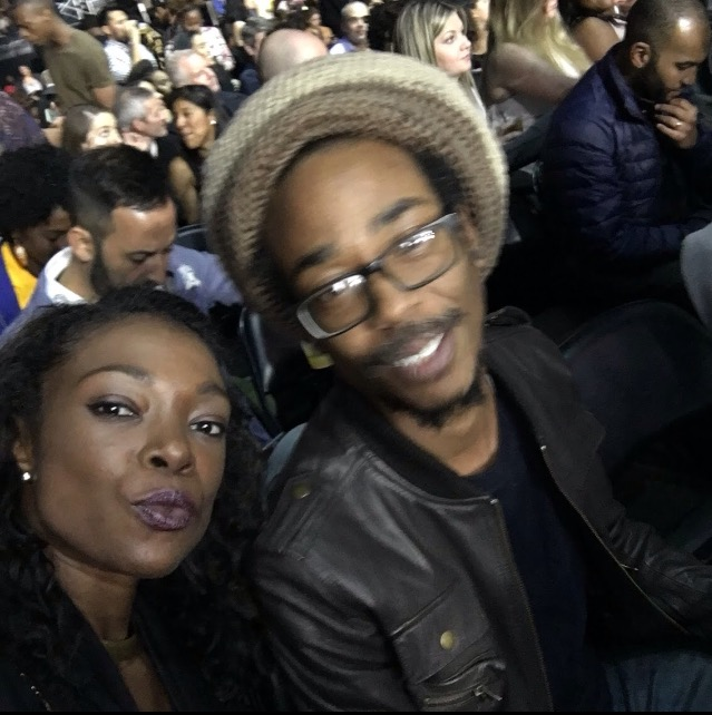 Sid V and Michelle Sasha Floor seats for Tidalx1015 at the Barclays Center
