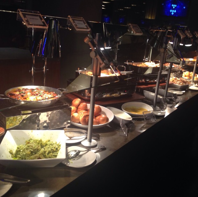 The spread at the Pre-Party Tidalx1015 #DUSSEXTIDAL