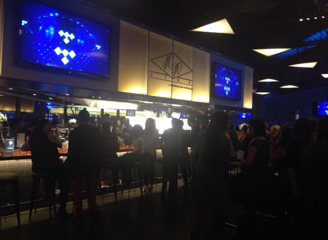 40/40 club inside the Barclays in Brooklyn