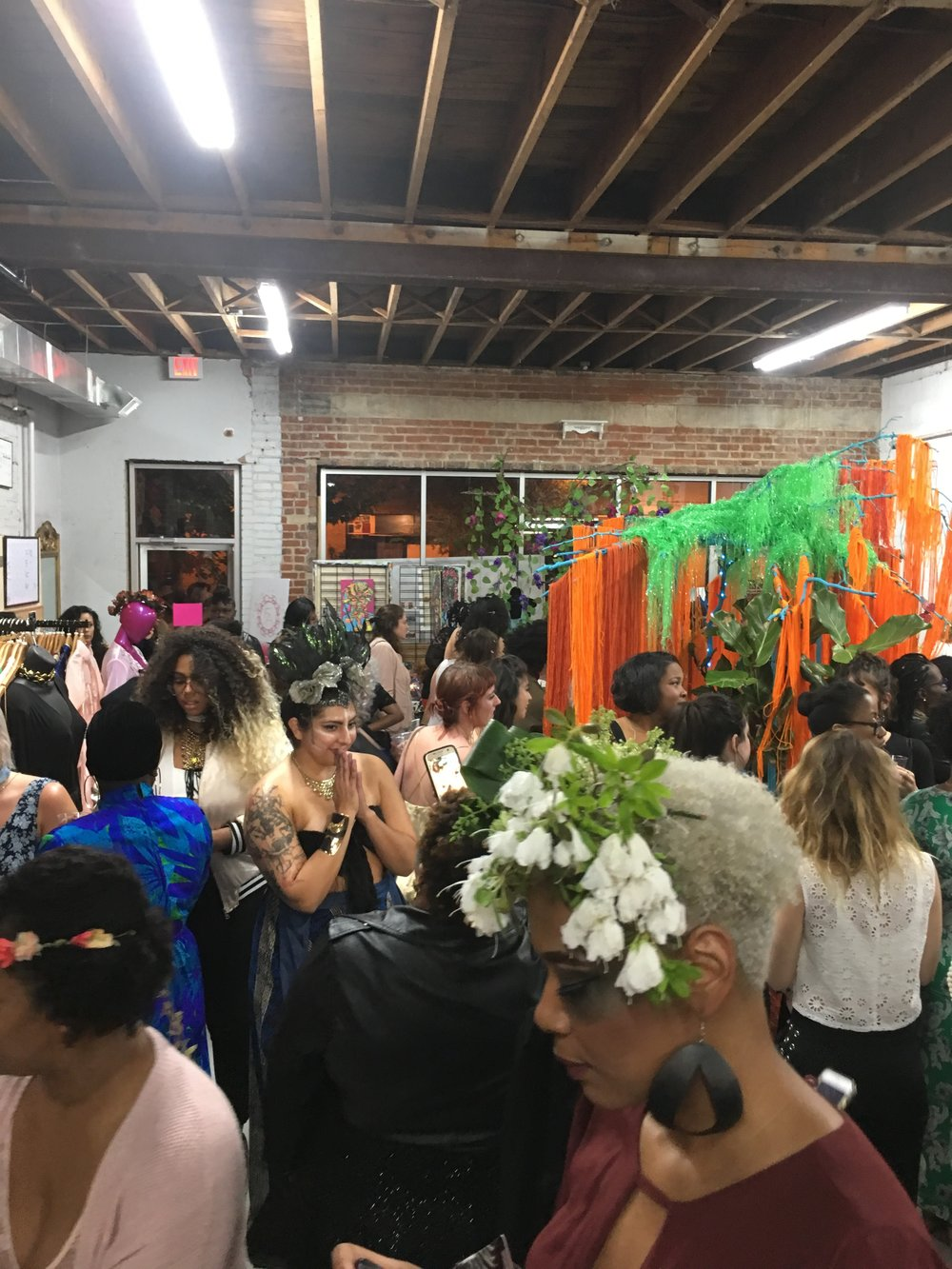 theme for the Femme Fetale DC Pop Up Launch Party: Mother Nature