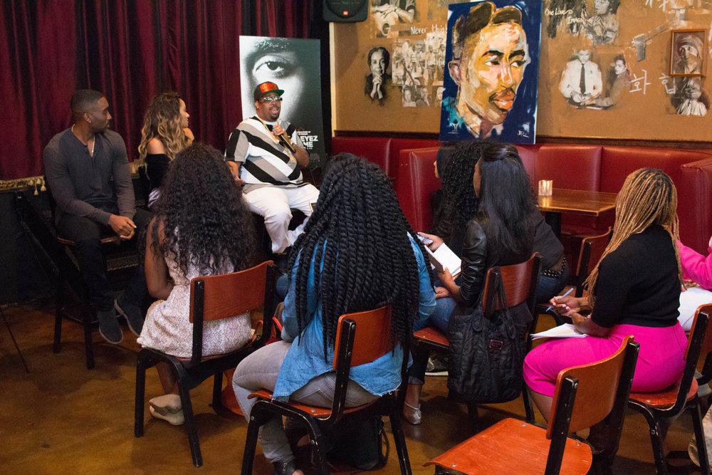 All Eyez on Me Roundtable Discussion in Washington, DC. Photo credit: @aleciarenecephoto