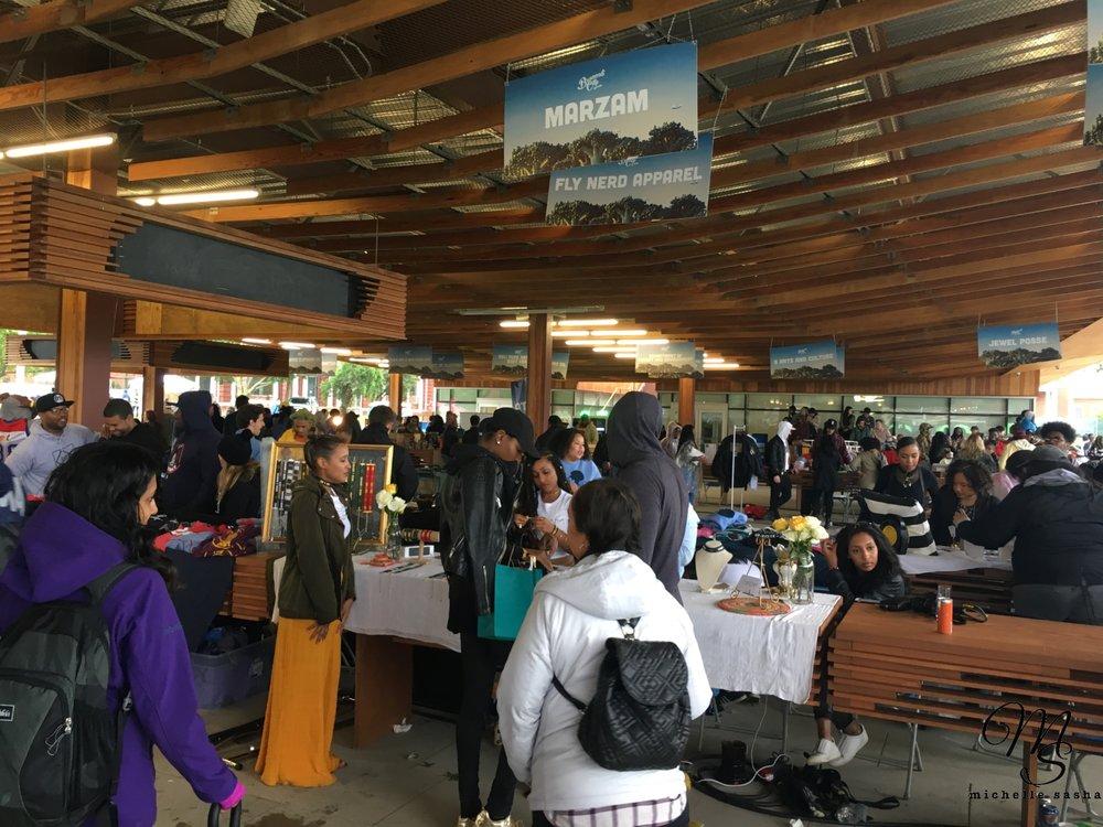 Vendors galore at Broccoli City V