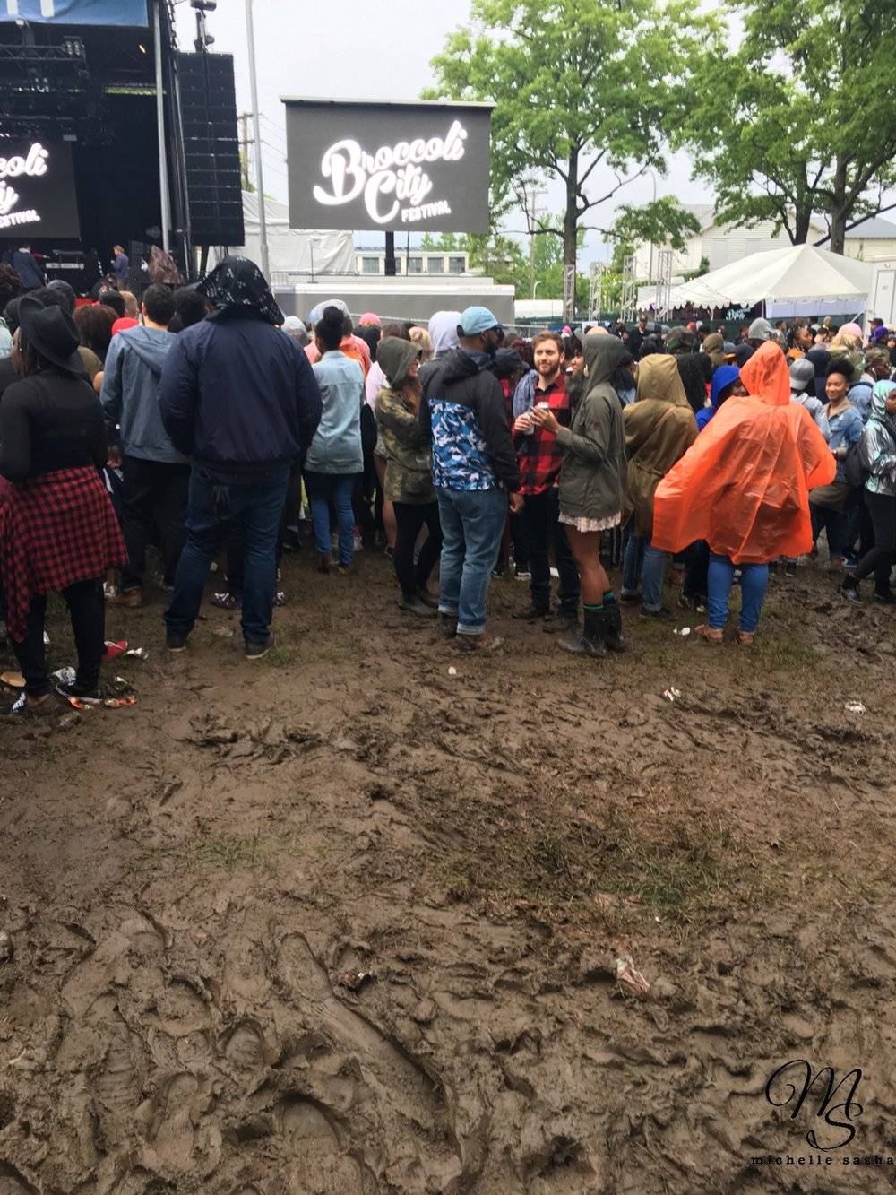 Mud pits didn't stop the music at Broccoli City V